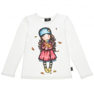 Μπλούζα Santoro με τύπωμα φθινόπωρο (6-14 ετών)