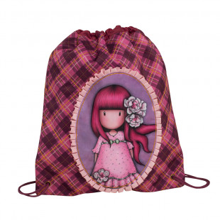 """Backpack with strings Santoro """"Cherry Blossom"""""""