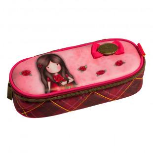 "Pencil case Santoro ""A Single Rose"""