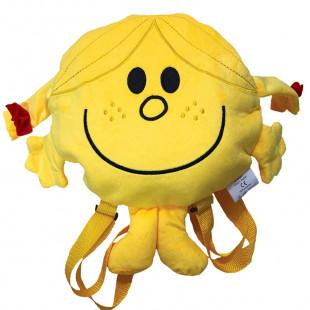 Σακίδιο πλάτης λούτρινο για νηπιαγωγείο Η Κυρία Γελαστούλα