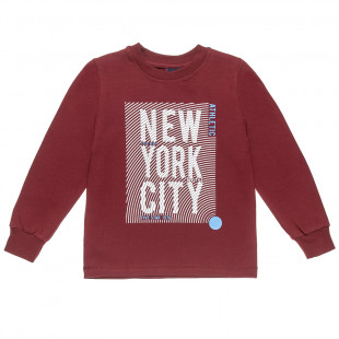 """Long sleeve top Five Star with print """"New York City"""" (2-5 years)"""