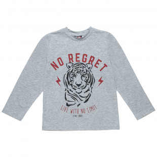 Long sleeve top Five Star with print (6-16 years)