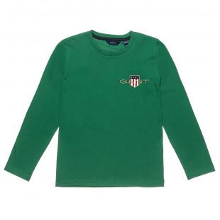 Μπλούζα Gant με κέντημα σε 4 χρώματα (10-16 ετών)
