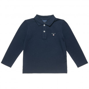 Long sleeve top Gant with embroidery (2-7 years)