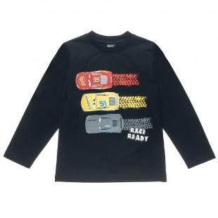 Μπλούζα Disney Cars με τύπωμα (2-8 ετών)