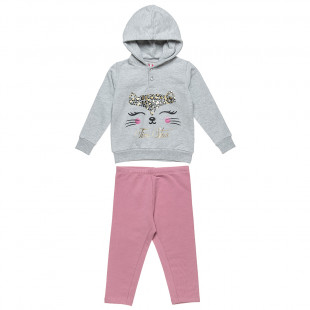Tracksuit Five Star with cat design (18 months-5 years)