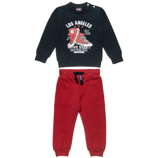 """Tracksuit Five Star with print """"Los Angeles"""" (12 months-5 years)"""
