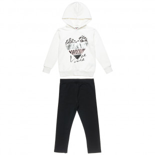 Tracksuit Five Star with foil detail print (6-16 years)