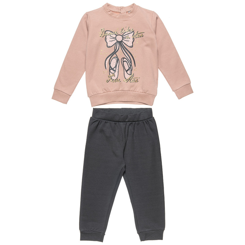 Tracksuit Five Star with ballet design (12 months-5 years)