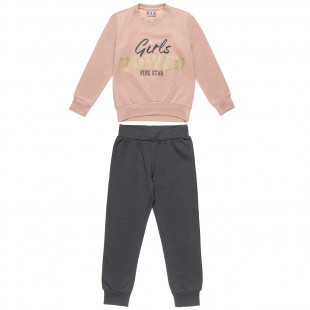 """Tracksuit Five Star """"Girls Power"""" (6-14 years)"""