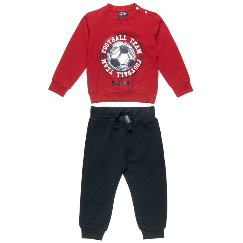 """Tracksuit Five Star with print """"Football team"""" (12 months-5 years)"""
