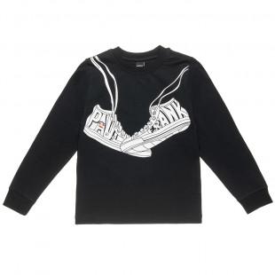 Μπλούζα Paul Frank με τύπωμα sneackers (18 μηνών-5 ετών)