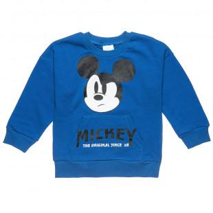 Μπλούζα Disney Micley Mouse με τσέπες μπροστά (12 μηνών-3 ετών)