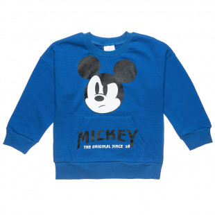 Sweatshirt Disney Mickey Mouse with front pockets (12 months-3 years)