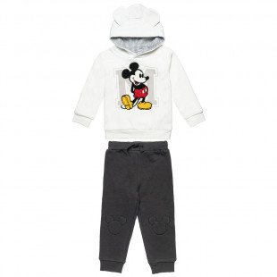 Set Disney Mickey Mouse hoodie with pants (12 months-3 years)