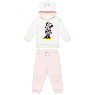 Set Disney Minnie Mouse sweartshirt with pants (12 months-3 years)