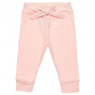 Leggings knitted in 2 colors (12 months-3 years)