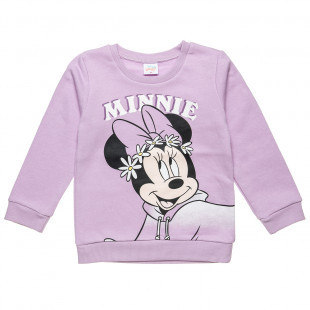 Long sleeve top Disney Minnie Mouse with glitter detail (12 months-3 years)