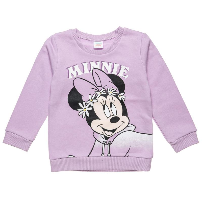 Μπλούζα Disney Minnie Mouse με glitter (12 μηνών-3 ετών)