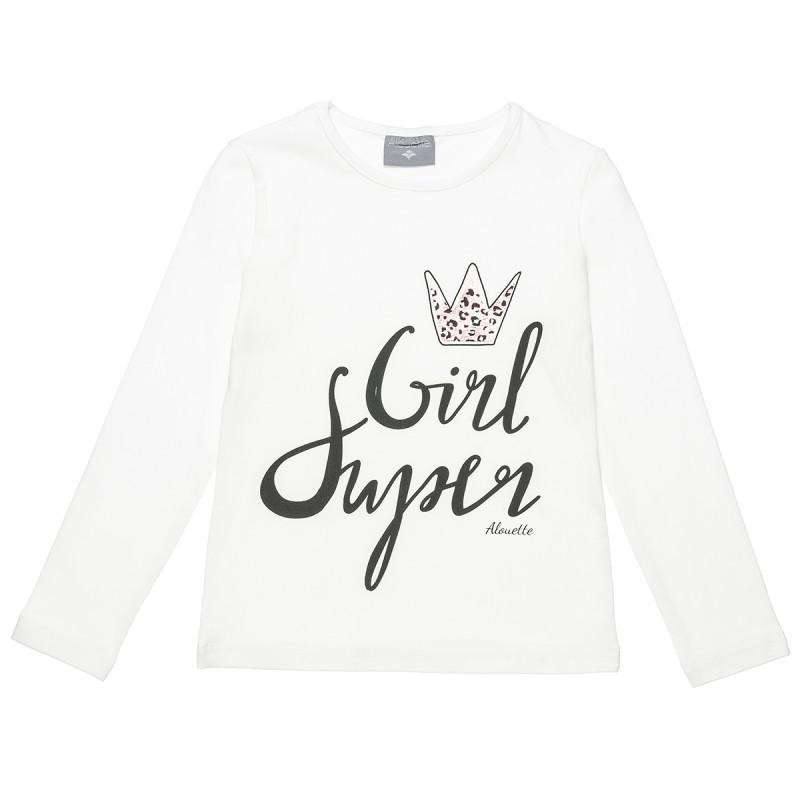 Μπλούζα με foil λεπτομέρεια (6-16 ετών)