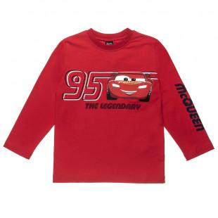 Long sleeve top Disney Cars Lightning McQueen (2-8 years)