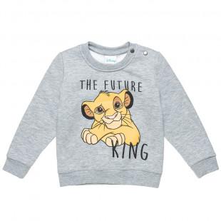 Sweatshirt Disney Lion King Simba with print (18 months-5 years)