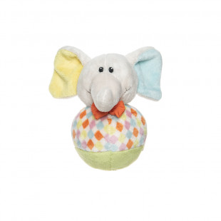 Musical plush toy baby elephant (6+ months)