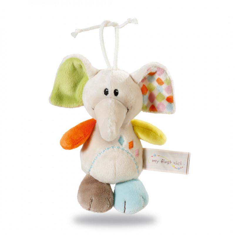Plush toy hanging baby elephant (0+ months)