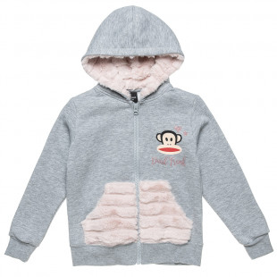 Cardigan Paul Frank with fur details (6-14 years)