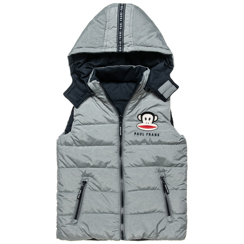 Double sided vest jacket Paul Frank with embroidery (12 months-5 years)