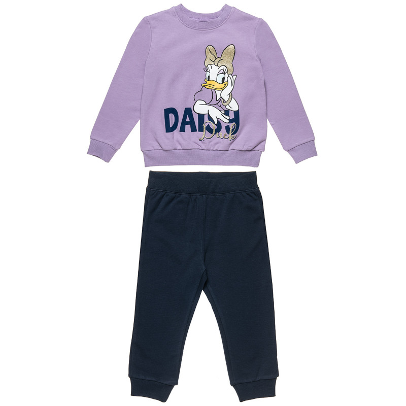 Tracksuit Disney Daisy Duck top with glitter detail (12 months-5 years)