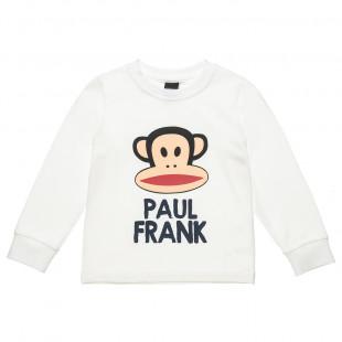 Μπλούζα Paul Frank με γυαλιστερό τύπωμα (12 μηνών-5 ετών)