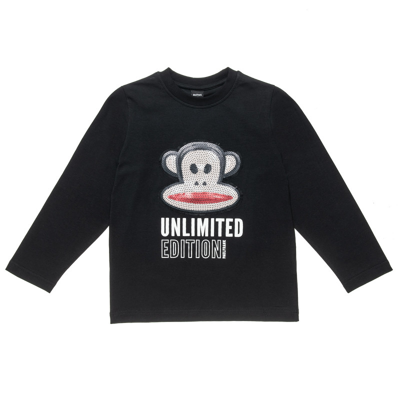 Long sleeve top Paul Frank with embroidery sequin (6-16 years)
