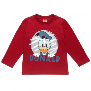 Long sleeve top Disney Miceky Mouse with print (18 months-5 years)