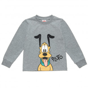 Long sleeve top Disney Pluto with print (12 months-5 years)