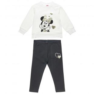 Σετ φόρμας Disney Minnie Mouse μπλούζα με κολάν (12 μηνών-6 ετών)