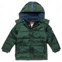 Jacket with detachable hood and fleece lining (12 μηνών-5 ετών)
