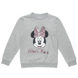 Long sleeve top Disney Minnie Mouse with sequins (18 months-12 years)
