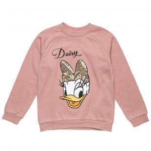 Μπλούζα Disney Daisy Duck με παγιέτες (18 μηνών-12 ετών)