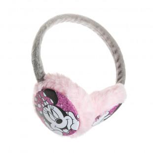 Στέκα με γούνινα αυτάκια Disney Minnie Mouse one size