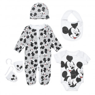 Set Disney Mickey Mouse 5-pieces (3-6 months)