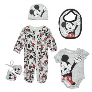 Σετ Disney Mickey Mouse 5 τεμάχια (3-6 μηνών)