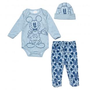 Σετ Disney Mickey Mouse 3 τεμάχια (0-3 μηνών)