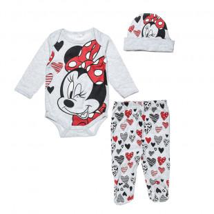 Set Disney Minnie Mouse 3-pieces (0-3 months)