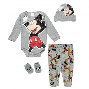 Set Disney Mickey Mouse 4-pieces (0-3 months)