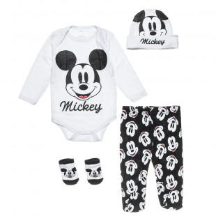 Σετ Disney Mickey Mouse 4 τεμάχια (0-3 μηνών)