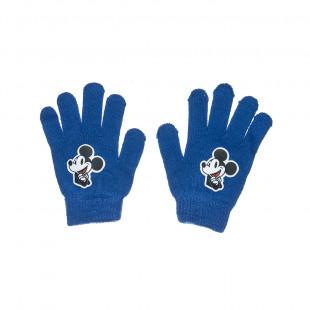 Γάντια πλεκτά Disney Mickey Mouse one size (6-16 ετών)
