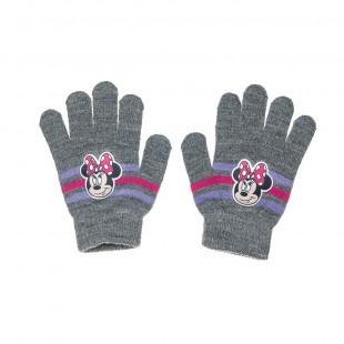Γάντια πλεκτά Disney Minnie Mouse one size (6-16 ετών)