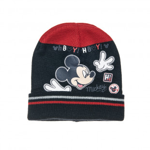 Σκούφος Disney Mickey Mouse με τύπωμα one size (1-2 ετών)