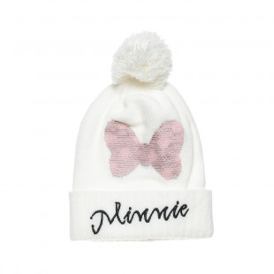 Beanie Disney Minnie Mouse with a sequin flip design one size (2-4 years)